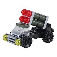 preiswerte Spielzeuge & Spiele-Bausteine 30pcs Fahrzeuge Stress und Angst Relief / Eltern-Kind-Interaktion / Dekompressionsspielzeug Zeichentrick Militärfahrzeuge