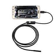 お買い得  -jingleszcn 5.5mmのUSB内視鏡カメラ5mのハードケーブルの防水IP67検査ボアスコープの蛇カメラアンドロイドPC用