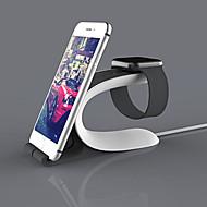 애플 시계 시리즈 2 ipad 아이폰 7 6 플러스 5s 5 스탠드 올인원 abs에 대한 moyi 시계 스탠드 38mm / 42mm 케이블 포함되지 않습니다