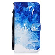 Кейс для Назначение SSamsung Galaxy S8 Plus S8 Кошелек Бумажник для карт со стендом Флип С узором Чехол Животное Твердый Искусственная
