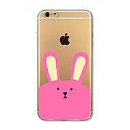 Недорогие Кейсы для iPhone 8 Plus-Кейс для Назначение Apple iPhone 8 iPhone 8 Plus Защита от удара Полупрозрачный С узором Кейс на заднюю панель Животное Мягкий ТПУ для