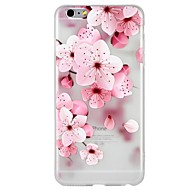 abordables Ofertas Diarias-Funda Para Apple iPhone 8 iPhone 8 Plus iPhone 6 iPhone 6 Plus iPhone 7 Plus iPhone 7 Diseños En Relieve Funda Trasera Flor Caricatura