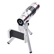 olcso Mobiltelefon objektívek-Mobiltelefon Lens Hosszú gyújtótávolságú lencse 18X makró 3m 30 High Definition