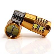 Недорогие Внешние огни для авто-2pcs Лампы 4W SMD 4014 22 Внешние осветительные приборы For Универсальный Все модели Все года