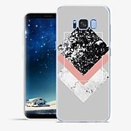 Недорогие Чехлы и кейсы для Galaxy S8-Кейс для Назначение Apple SSamsung Galaxy S8 Plus S8 С узором Кейс на заднюю панель Мрамор Мягкий ТПУ для S8 Plus S8 S7 edge S7 S6 edge