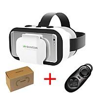 abordables Gafas de Realidad Virtual-vr shinecon 5.0 gafas realidad virtual gafas 3d para teléfono de 4.7 a 6.0 pulgadas con controlador