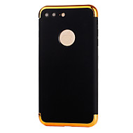 Недорогие Кейсы для iPhone 8 Plus-Кейс для Назначение Apple iPhone 8 iPhone 8 Plus Покрытие Задняя крышка Сплошной цвет Мягкий TPU для iPhone 8 Pluss iPhone 8 iPhone 7