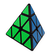 cheap Toy & Game-Rubik's Cube QI YI Pyramid Smooth Speed Cube Magic Cube Puzzle Cube Smooth Sticker Triangle Gift Unisex
