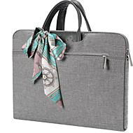 olcso MacBook védőburkok, védőhuzatok, táskák-Táskák / MacBook Tok / Ujjak mert Egyszínű Tömör szín Poliészter Az új 13 hüvelykes MacBook Pro / MacBook Air 13 hüvelyk / MacBook Pro 13