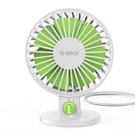abordables Aparatos USB-Orico uf1 usb fan mini usb portable mini fan para laptop computadora portátil con interruptor de llave ajustable - blanco