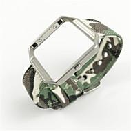 Недорогие Аксессуары для смарт-часов-Ремешок для часов для Fitbit Blaze Fitbit Современная застежка Материал Повязка на запястье