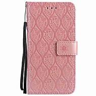 Недорогие Кейсы для iPhone 8-Кейс для Назначение Apple iPhone X iPhone 8 Plus Бумажник для карт Кошелек Защита от удара Кольца-держатели Флип Чехол Сплошной цвет