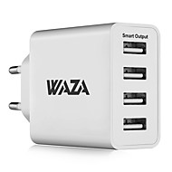 cheap iPod Accessories-Portable Charger USB Charger EU Plug Fast Charge / Multi Ports 4 USB Ports 5 A iPhone 8 Plus / iPhone 8 / S8 Plus