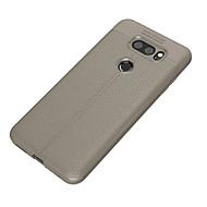 お買い得  携帯電話ケース-ケース 用途 LG V30 Q6 超薄型 バックカバー 純色 ソフト TPU のために LG V30 LG Q6 Plus LG Q6 LG G6