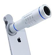 billige Linser til mobiltelefoner-Mobiltelefon linser Objektiv med lang brændvidde 18X makro 3m 30 Objektiv med stativ