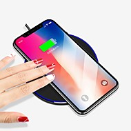 cheap Apple Accessories-Wireless Charger Phone USB Charger USB Wireless Charger Qi 1 USB Port 1A DC 5V iPhone X iPhone 8 Plus iPhone 8 S8 S7 Active S7 edge S7 S6