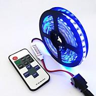 tanie Taśmy LED-ZDM® 240 Diody LED 1M LED Strip Light 1 Pilot zdalnego sterowania 11 kluczy Ciepła biel Zimna biel Niebieski Nadaje się do krojenia