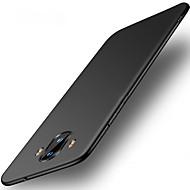 お買い得  携帯電話ケース-ケース 用途 Huawei Mate 10 pro Mate 10 lite 超薄型 バックカバー 純色 ハード PC のために Mate 10 Mate 10 pro Mate 10 lite Mate 9 Mate 9 Pro Huawei