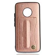 Maska Pentru Motorola G5 Plus / G5 Titluar Card / Cu Stand Mată Greu pentru