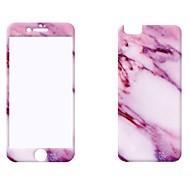 Недорогие Защитные пленки для iPhone-Защитная плёнка для экрана Apple для Закаленное стекло 2 штs Защитная пленка для экрана Уровень защиты 9H Защита от царапин Против
