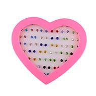お買い得  -女性用 スタッドピアス ファッション イミテーションダイヤモンド 幾何学形 ジュエリー 日常