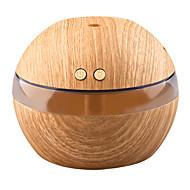 Недорогие Интеллектуальные огни-yk30 мини-портативный туман производителя аромат эфирное масло диффузор ультразвуковой аромат увлажнитель светлый деревянный рассеиватель
