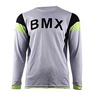 お買い得  -2017夏の知恵はオートバイのクロスカントリージャージー自身のマウンテンバイクHDダウンヒルクロスカントリージャージーアウトドアスポーツ長袖Tシャツ