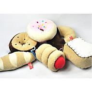 강아지 반려동물 장난감 씹는 장난감 찍찍 소리를 내다 면 섬유 애완 동물