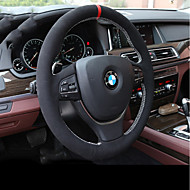 cheap Steering Wheel Covers-Steering Wheel Covers Genuine Leather Black For BMW X3 / X5 / 3 Series All years