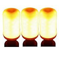 olcso LED okos izzók-SENCART 3db 5 W 700 lm GU10 E26/E27 E12/E14 Okos LED izzók E27 / E14 96 led SMD 2835 Smart Dekoratív LED fény Meleg sárga AC 85-265V