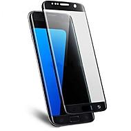 Недорогие Чехлы и кейсы для Galaxy S-Защитная плёнка для экрана Samsung Galaxy для S7 edge Закаленное стекло 1 ед. Защитная пленка для экрана 3D закругленные углы Против