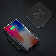 cheap Apple Accessories-Wireless Charger Phone USB Charger USB Wireless Charger Qi 1 USB Port 1A DC 5V iPhone X iPhone 8 Plus iPhone 8 S8 Plus S8 S7 Active S7