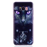 billige Etuier / covers til Galaxy S-modellerne-Etui Til Samsung Galaxy S8 Plus S8 IMD Mønster Bagcover Kat Blødt TPU for S8 Plus S8 S7 edge S7 S6 edge S6 S5