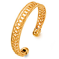 Women's Cuff Bracelet Metallic Fashion Gold Plated Jewelry Party Gift