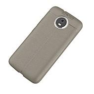 お買い得  携帯電話ケース-ケース 用途 Motorola G5 Plus 超薄型 バックカバー 純色 ソフト TPU のために Moto G5s Plus Moto G5s モトG5プラス Moto G5 Moto G4 Plus Moto C plus モトC