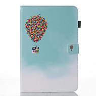 Недорогие Чехлы и кейсы для Samsung Tab-Кейс для Назначение SSamsung Galaxy Tab A 10.1 (2016) Кошелек / со стендом / Флип Чехол Воздушные шары Твердый Кожа PU для Tab A 10.1 (2016)