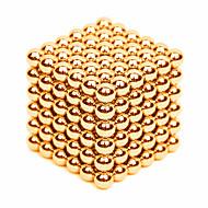 preiswerte Spielzeuge & Spiele-216 pcs 3mm Magnetspielsachen Magnetische Bälle Bausteine Superstarke Magnete aus seltenem Erdmetall Neodym - Magnet Stress und Angst Relief Büro Schreibtisch Spielzeug Heimwerken Erwachsene / Kinder