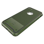 お買い得  -ケース 用途 Apple iPhone 7 耐衝撃 純色 ソフト のために