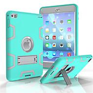 billiga Fodral och skal till iPad-fodral Till Apple Korthållare Plånbok Stötsäker med stativ Fodral Tecknat Mjukt PC för iPad 4/3/2
