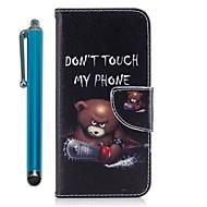Недорогие Чехлы и кейсы для Galaxy S9-Кейс для Назначение SSamsung Galaxy S9 S9 Plus Бумажник для карт Кошелек со стендом Флип Магнитный Чехол Бабочка Твердый Кожа PU для S9