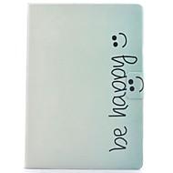 Недорогие Чехлы и кейсы для Samsung Tab-Кейс для Назначение SSamsung Galaxy Tab S2 8.0 Бумажник для карт / со стендом / Флип Чехол Слова / выражения Твердый Кожа PU для Tab S2 8.0