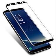 お買い得  Samsung 用スクリーンプロテクター-スクリーンプロテクター Samsung Galaxy のために S9 Plus 強化ガラス 1枚 フルボディプロテクター 3Dラウンドカットエッジ 指紋防止 傷防止 防爆 硬度9H