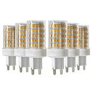 billige LED-lamper med G-sokkel-YWXLIGHT® 6stk 10W 900-1000 lm G9 LED-lamper med G-sokkel T 86 leds SMD 2835 Dæmpbar Varm hvid Kold hvid Naturlig hvid 220V-240V