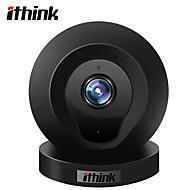 Ithink 1.0 MP 실내 with 줌 64GB (32GB enough)(내장형 스피커 내장 마이크 모션 감지 듀얼 스트림 리모트 액서스) IP Camera