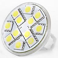 billiga -SENCART 1st 5 W LED-lampor med G-sockel 160 lm MR11 MR11 12 LED-pärlor SMD 5060 Dekorativ Varmvit Vit 12 V / RoHs