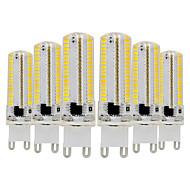 abordables Luces LED de Doble Pin-ywxlight® 6pcs g9 3014 7w 600-700lm luces led bi-pin regulables blanco cálido blanco fresco blanco natural 360 luces de ángulo de haz foco 110-130v 220-240v
