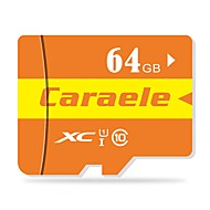 Caraele 64 Гб Карточка TF Micro SD карты карта памяти Class10 CA-2