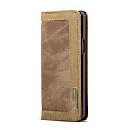 Недорогие Чехлы и кейсы для Galaxy S9 Plus-Кейс для Назначение SSamsung Galaxy S9 Plus Бумажник для карт Кошелек Флип Чехол Однотонный Твердый текстильный для S9 Plus