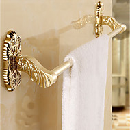 abordables Gadgets de Baño-Barra para Toalla Múltiples Funciones Modern Metal Barra de 1 toalla Colocado en la Pared