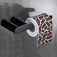 お買い得  -1セット 高品質 アンティーク 真鍮 トイレットペーパーホルダー 壁式